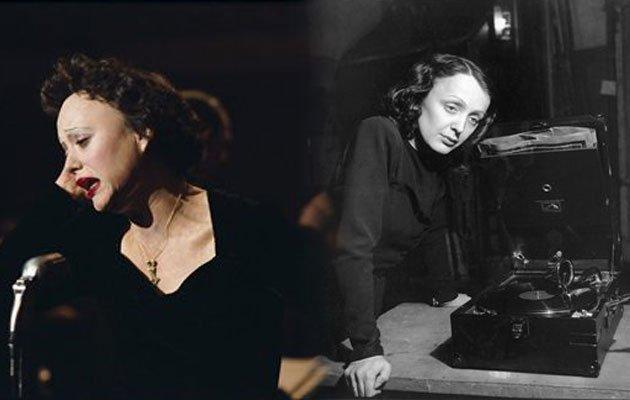 Marion Cotillard berperan sebagai Edith Piaf