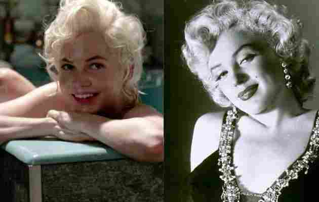 Michelle Williams replicated the mythical Marilyn Monroe