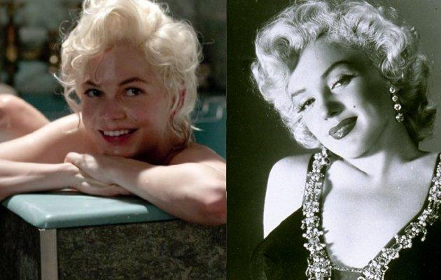 Michelle Williams respondeu à mítica Marilyn Monroe