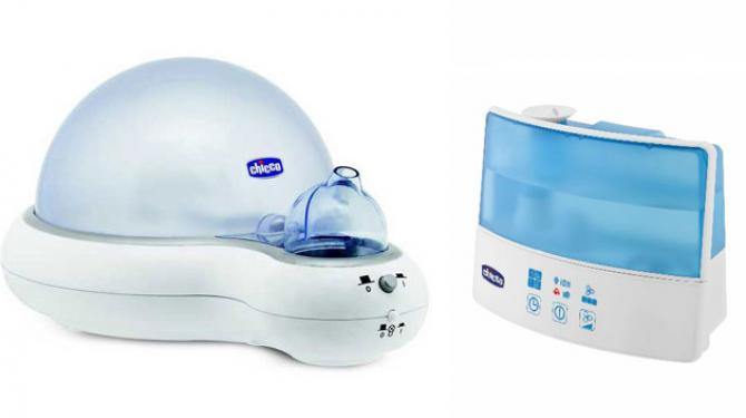 Los mejores humidificadores para bebés
