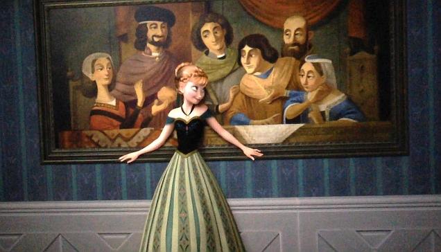 Anna, vestido de coroação