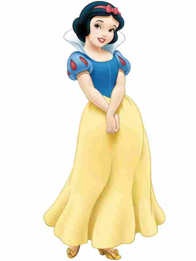 Branca de Neve, traje tradicional.