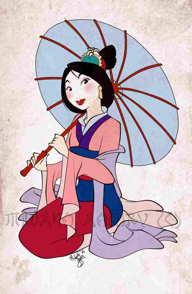 Gala Mulan (quando ela vai ao casamenteiro)