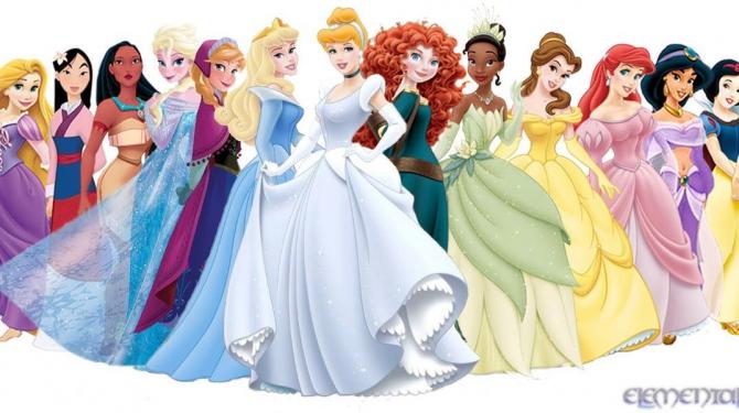 Os melhores vestidos das princesas da Disney