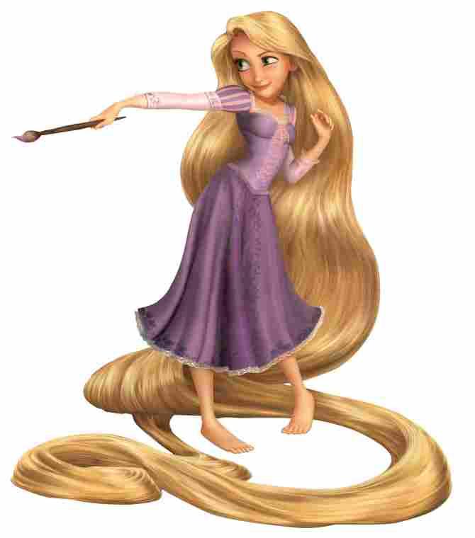 Rapunzel, vestido tradicional