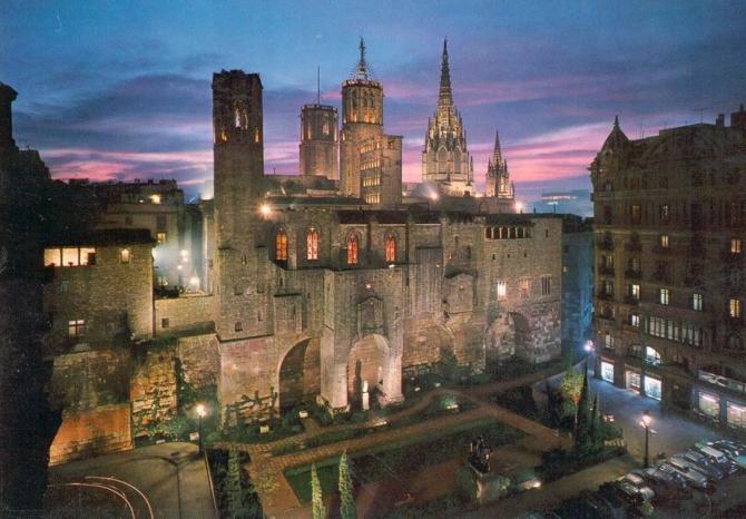 Plimbare prin cartierul gotic