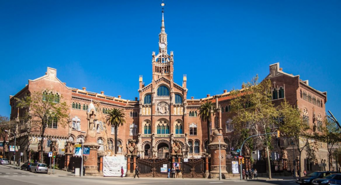 Посетите Ла Sagrada Familia и больницу Сан-Пау