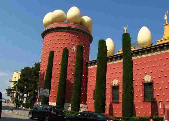 Visite el Museo Salvador Dalí en Figueres