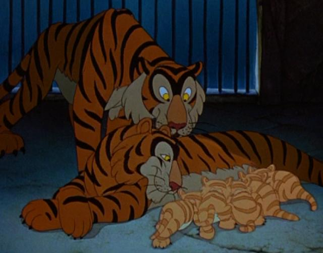 Цирковые Тигры (Дамбо)