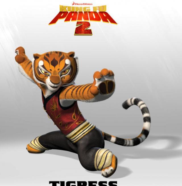 Tigresa (Panda de Kung Fu)