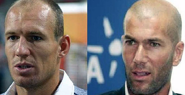 Robben dan Zidane