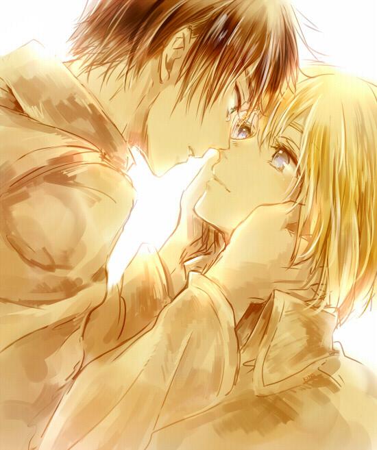 Eren e Armin