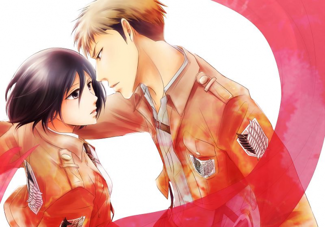Jean and Mikasa