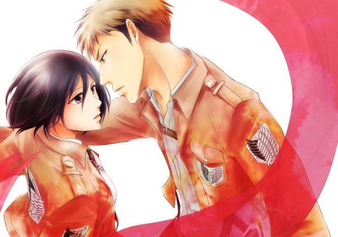 Jean e Mikasa