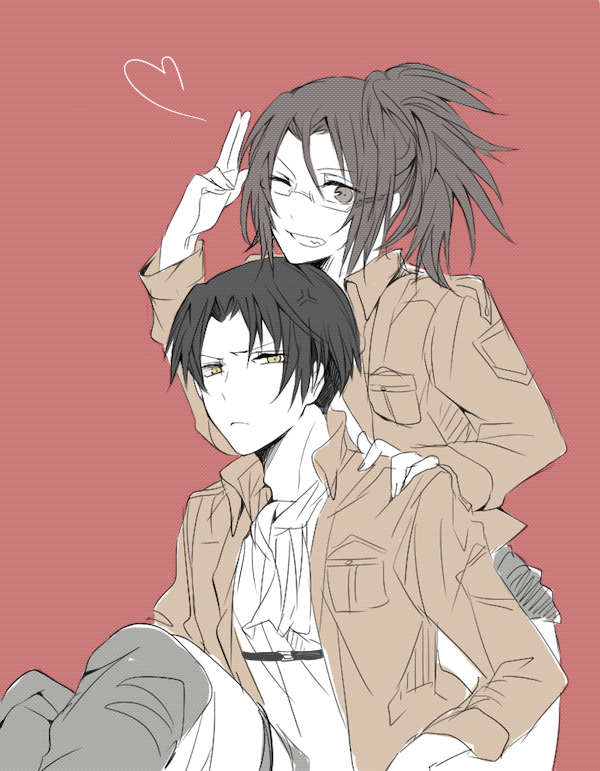 Rivaille and Hanji