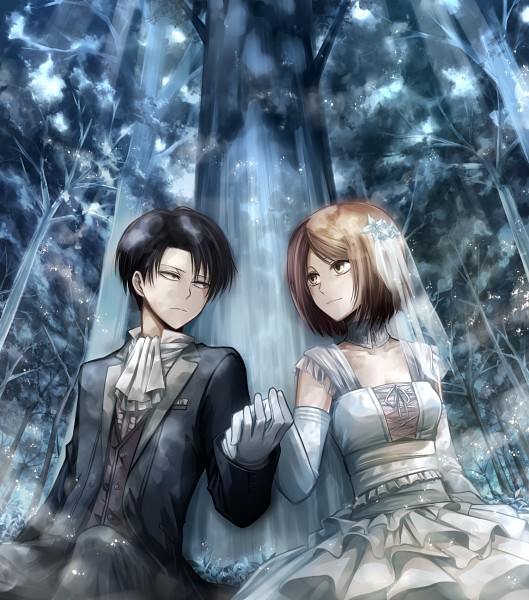 Rivaille and Petra