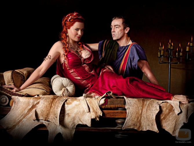 Batiatus e Lucretia