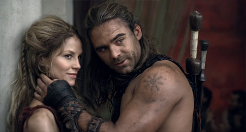 Gannicus and Saxa