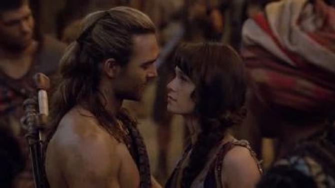 Os melhores casais de Spartacus