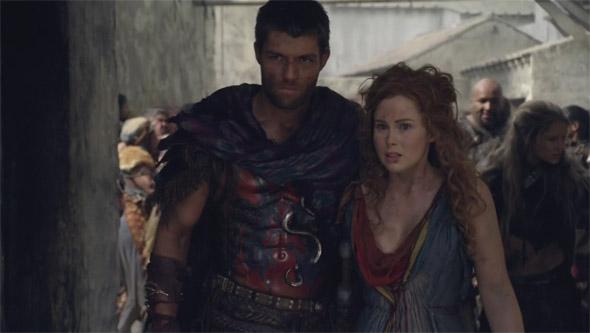 Spartacus e Laeta