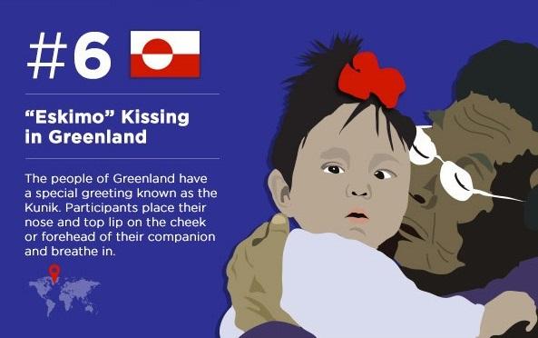 Эскимосский поцелуй (ты в Гренландии)