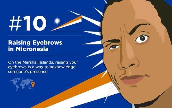 Поднимите брови (если вы собираетесь в Микронезию)