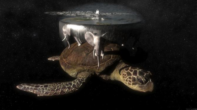 Disc World by Terry Pratchett