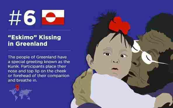 Eskimo kiss (you in Greenland)