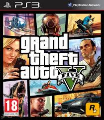 1.- Grand theft auto (GTA 5)