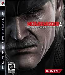 4.- Metal Gear Solid 4: Guns of the Patriots