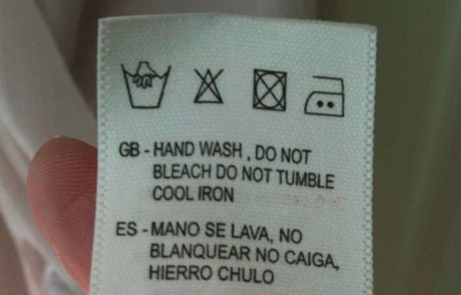 Jangan juga berfikir tentang menggunakan besi sejuk