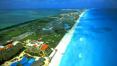 Pantai terbaik di Meksiko