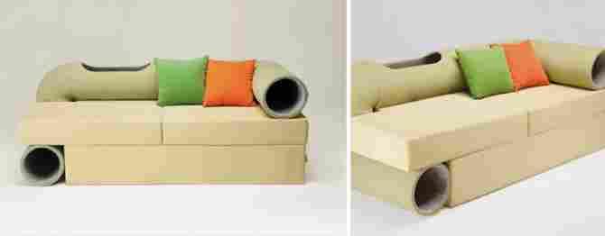 非常に特別なソファ