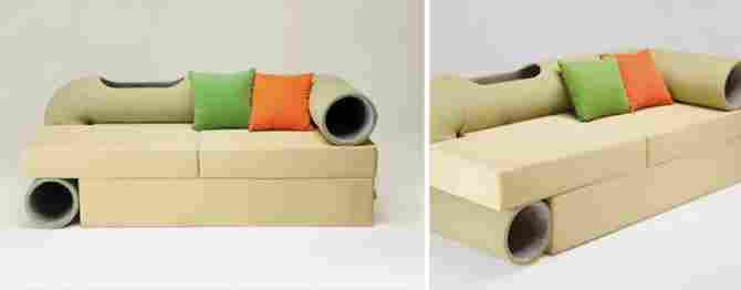A very special sofa