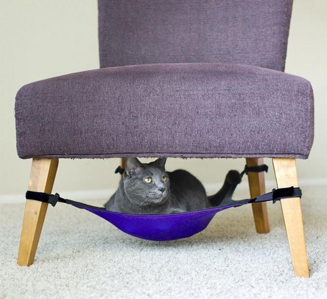 Hängmatta för katter