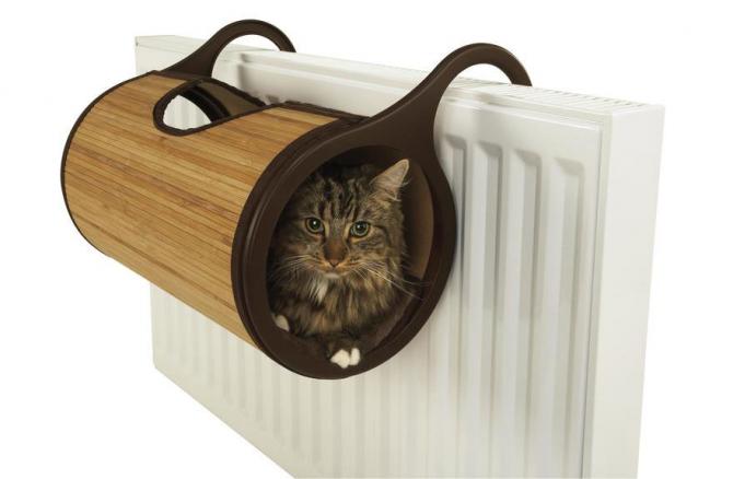 Varmt litet hus