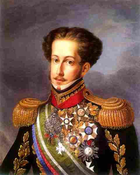 Pedro I from Brazil