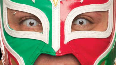 The best masks of Rey Mysterio.