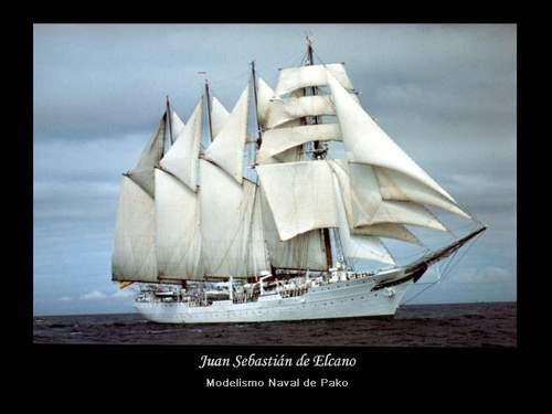 Juan Sebastián Elcano School Ship