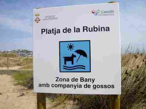 Playa de la Rubina, Empuria Brava (Girona)