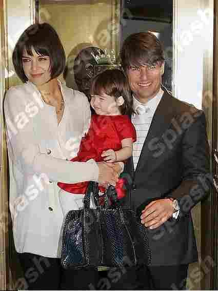 Suri (Tom Cruise & Katie Holmes)