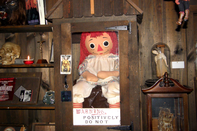 2. Annabelle, the possessed doll
