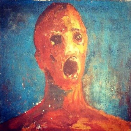 8. Pintura de '' O Homem Angustiado ''