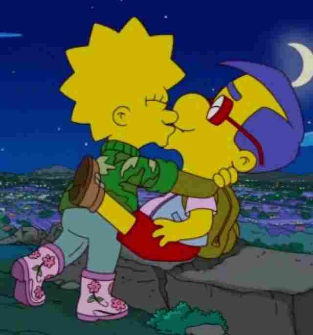 Lisa ♥ Milhouse