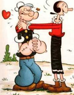 Popeye ♥ Olive
