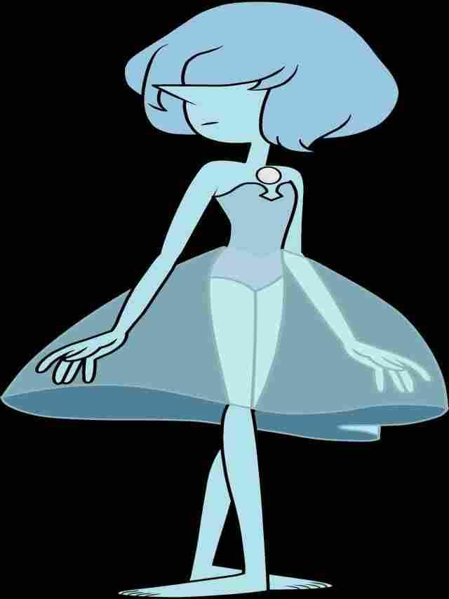 Blaue Perle
