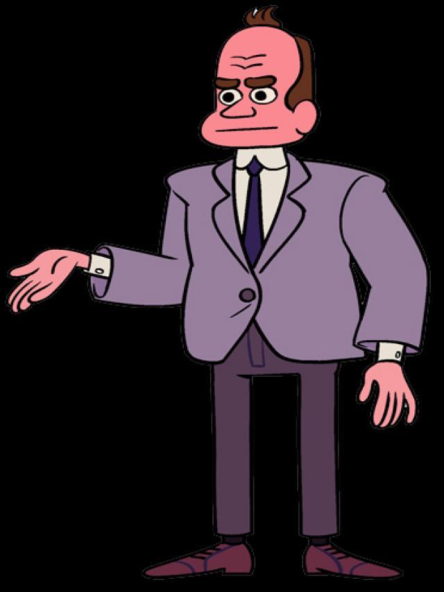 Bürgermeister Bill Dewey.