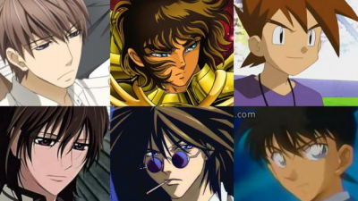 Los chicos de cabello castaño/café más guapos del anime
