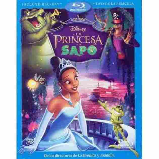 Princess Tiana and the Toad.