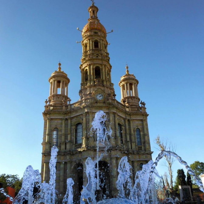 Храм Сан-Антонио - Агуаскальентес, Агуаскальентес.